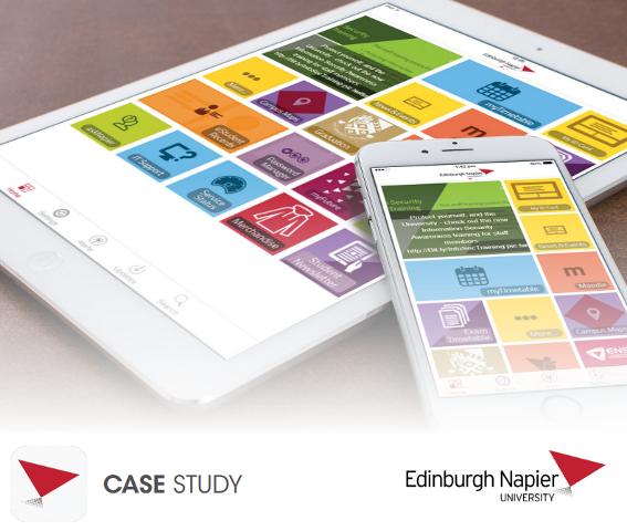 Edinburgh Napier campusM case study