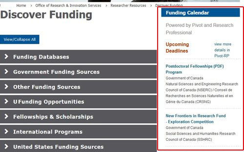 Pivot-RP Embedded Funding Searches