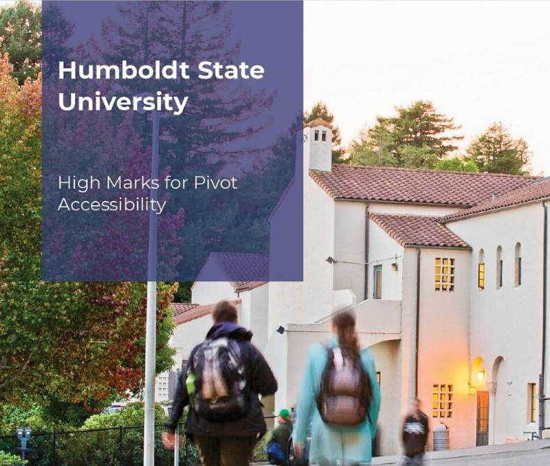 Pivot at Humboldt State University case study image