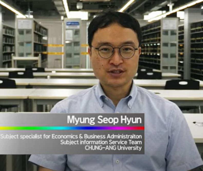 RefWorks at Chung-Ang University - Myung Seop Hyun