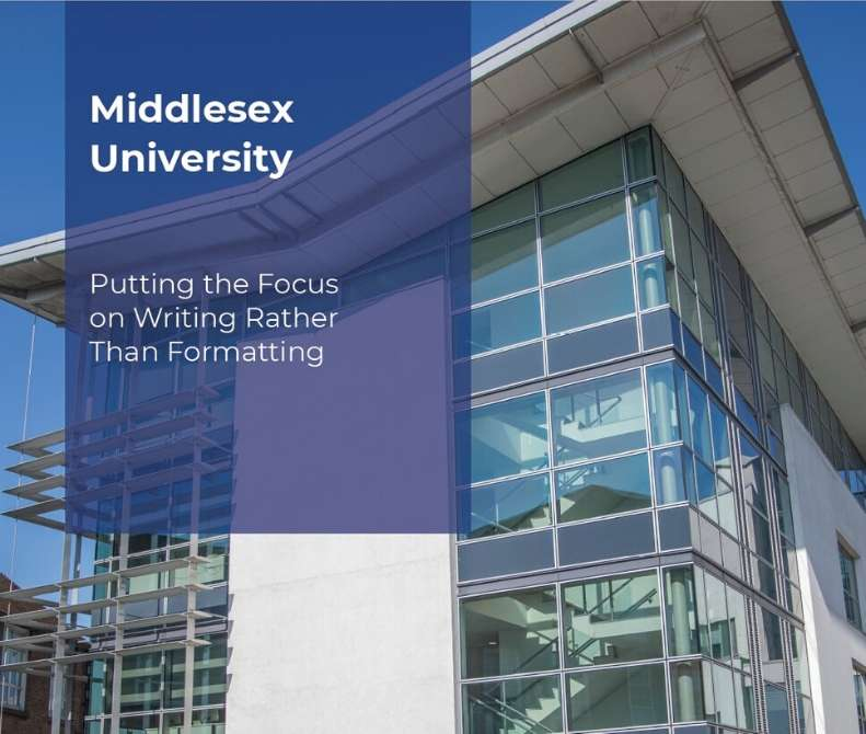 RefWorks at Middlesex University