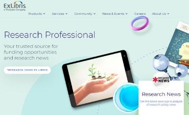 Research Professional web page asset