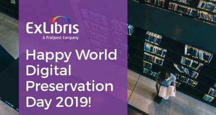 Why is digital preservation important? Happy World Digital Preservation Day 2019 Why is digital preservation important - Happy World Digital Preservation Day 2019